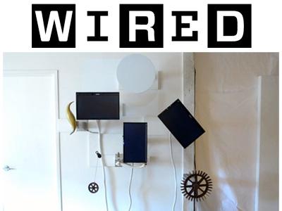 WIRED Magazine Logo and Artwork Photo